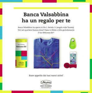 regaloperte   Banca Valsabbina