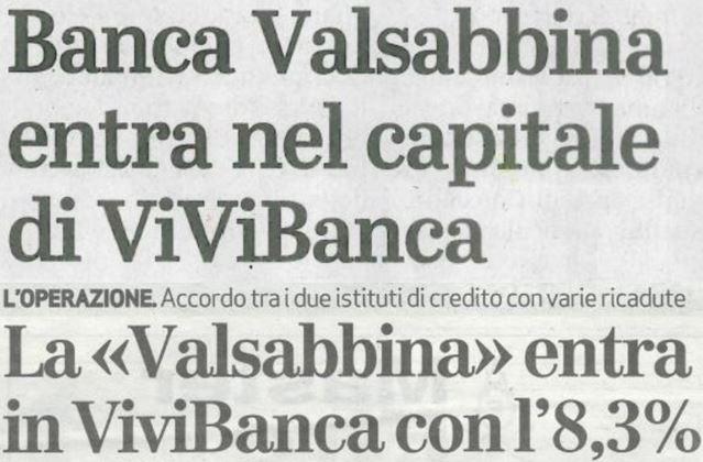 BancaValsabbina ViviBanca | Banca Valsabbina