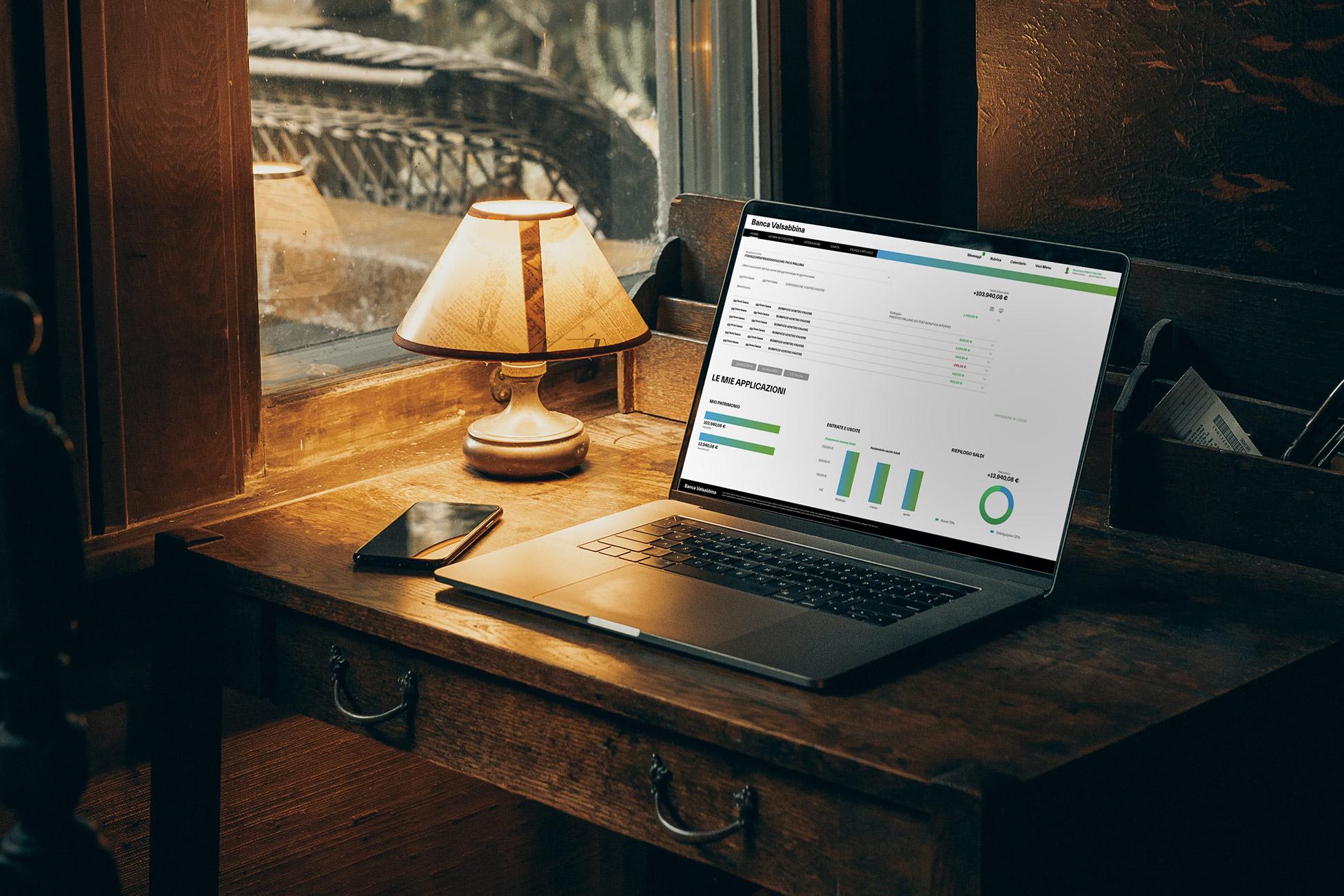 servizi digitali hero | Banca Valsabbina
